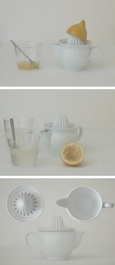 天草陶石のジューサー、レモン絞り