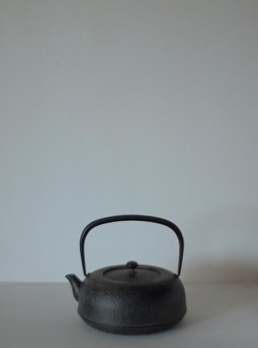 岩手県水沢の鉄瓶