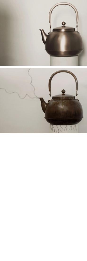 銅の薬缶、銅のやかん