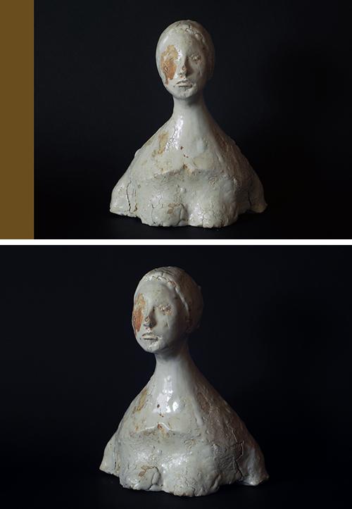 立花英久の塑像展