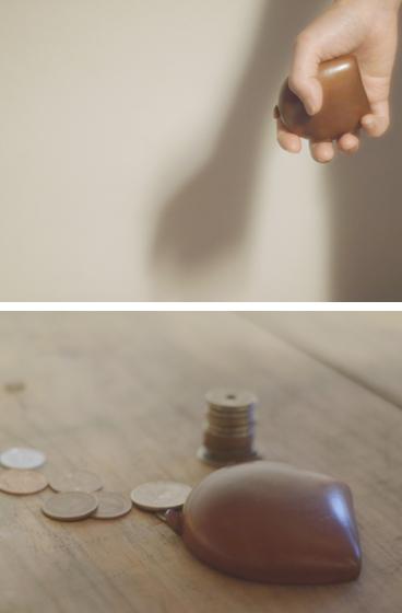 ペローニの革のコインケース